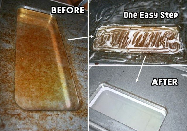 Easy Way to Clean Oven Glass