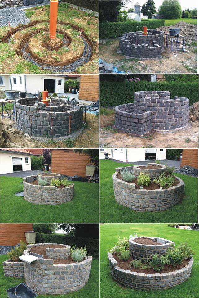 How To Build An Herb Spiral Garden For Small Space