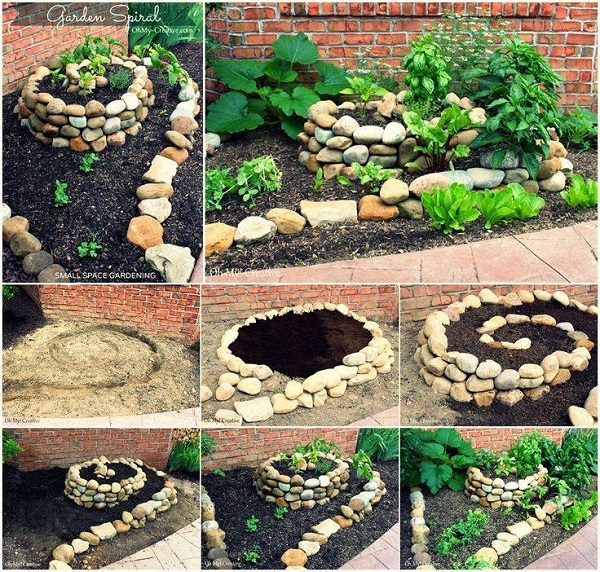 How to Build an Herb Spiral for Small Space Video www