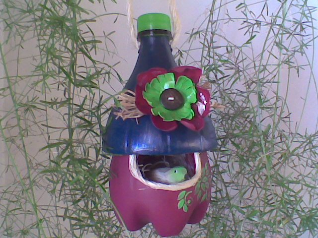 How to DIY Cute Bird House from Plastic Bottles