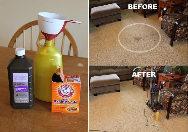 How to DIY Magic 2-Ingredient Carpet Cleaner