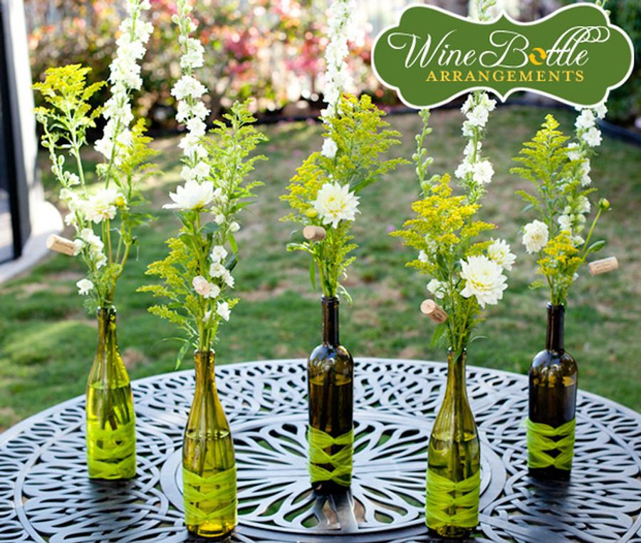 Ideas of old wine bottles0