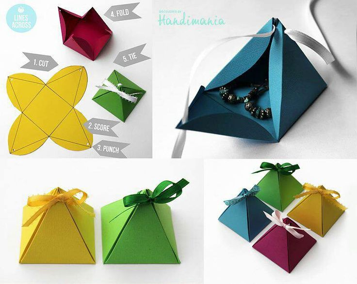 How To DIY Pyramid Gift Box Easy Printables