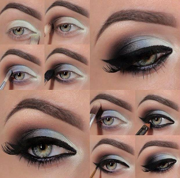 DIY Stunning Purple Smokey Eye Makeup Tutorials