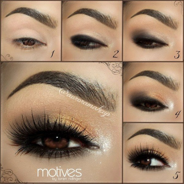 Très 40+ Stunning Shimmery Smokey Eye Makeup DIY Tutorials - Fab Art DIY PE71