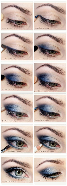 40 stunning shimmery smokey eye makeup diy tutorials fab art diy stunning shimmery smokey eye makeup diy tutorials baditri Images