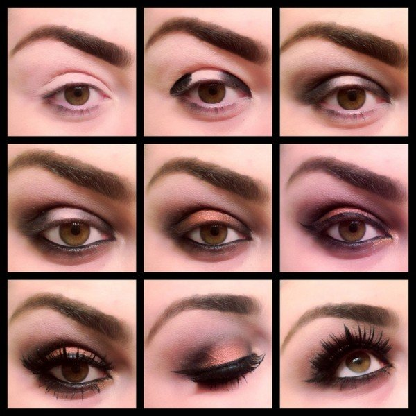 Stunning Shimmery Smokey Eye Makeup DIY Tutorials14