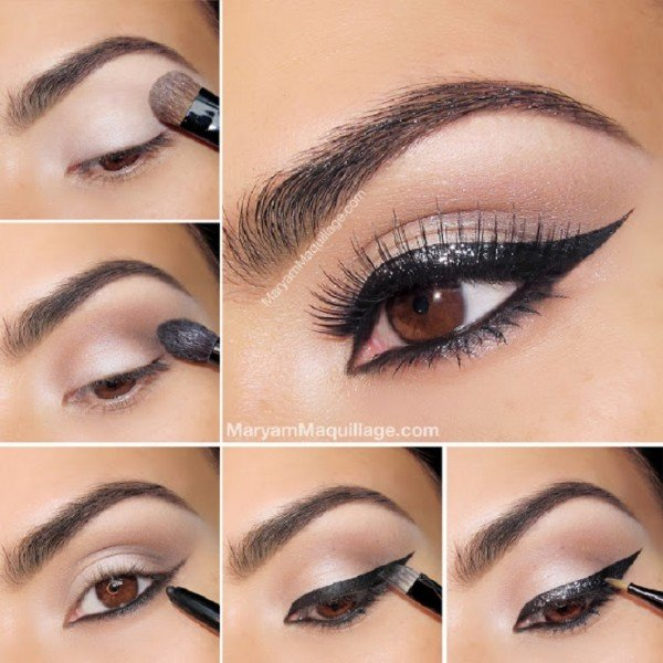 Stunning Shimmery Smokey Eye Makeup DIY Tutorials19