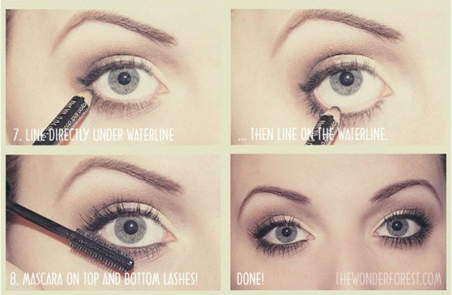 Stunning Shimmery Smokey Eye Makeup DIY Tutorials20