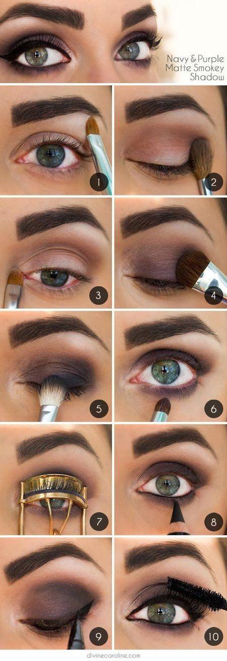 40 Stunning Shimmery Smokey Eye Makeup Diy Tutorials Fab Art Diy