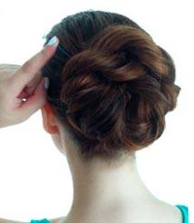 DIY Double Rope Braid Bun Updo Hairstyle Tutorial