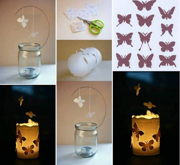 DIY Magical Floating Butterfly Lantern Tutorial