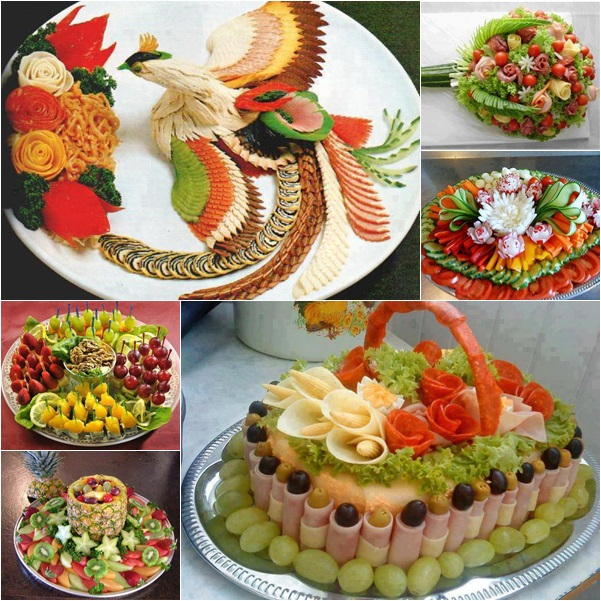 Diy ideas on food art presentation for Art of food decoration
