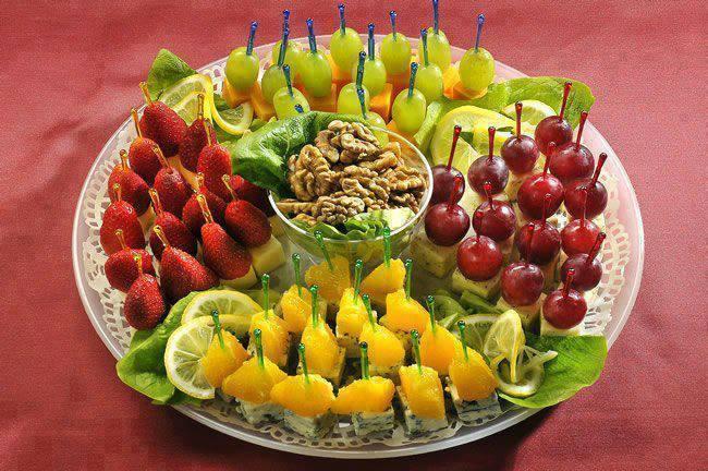 украшения из овощей для салата фото
