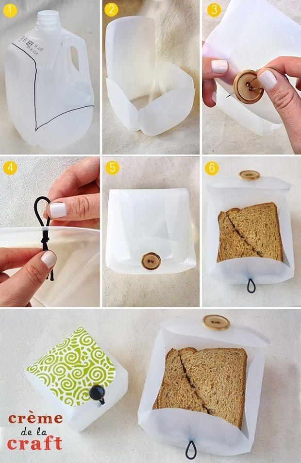 lunchbox from milk jug tutorial