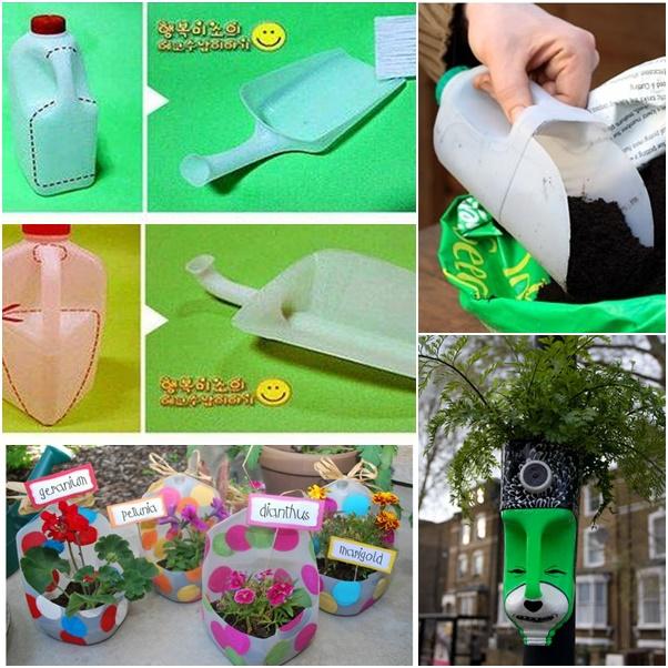 milk jug for garden