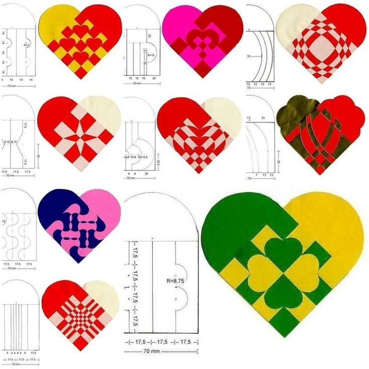 simple heart pattern