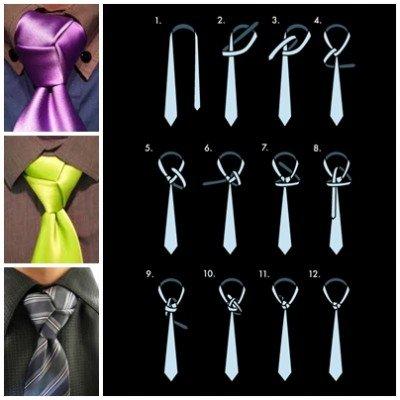 How to Tie a Trinity Tie Knot - video