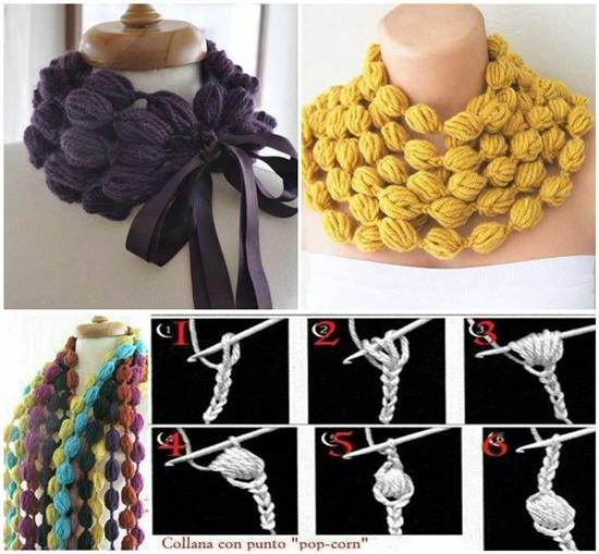 Crochet Popcorn Stitch Tutorial : DIY Crochet Puff Stitch Blanket Pattern