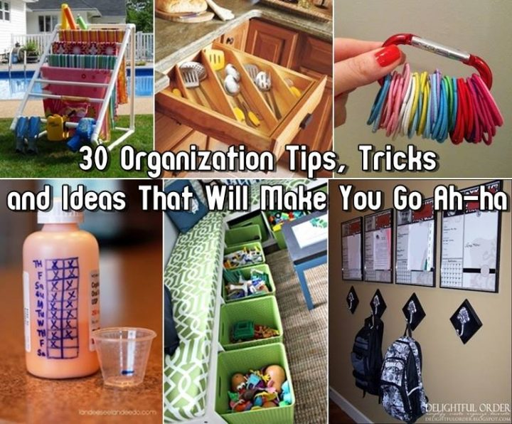 Home organization tips tricks and ideas for Home building tips and tricks