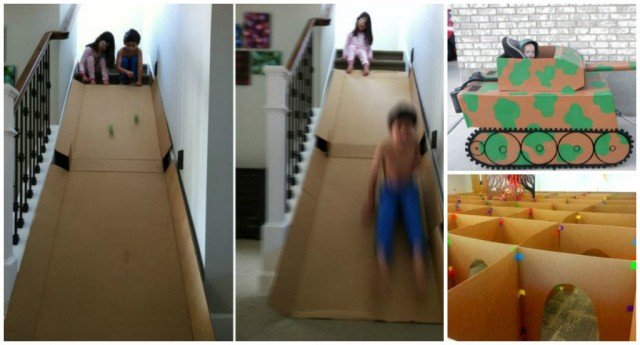 Awesome Things You Can Make With A Cardboard Box