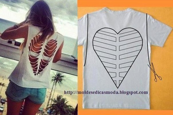 20+ Ways and Ideas to Refashion T-shirt into Chic Top06.jpg