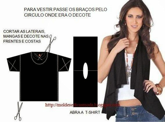 20+ Ways and Ideas to Refashion T-shirt into Chic Top08.jpg