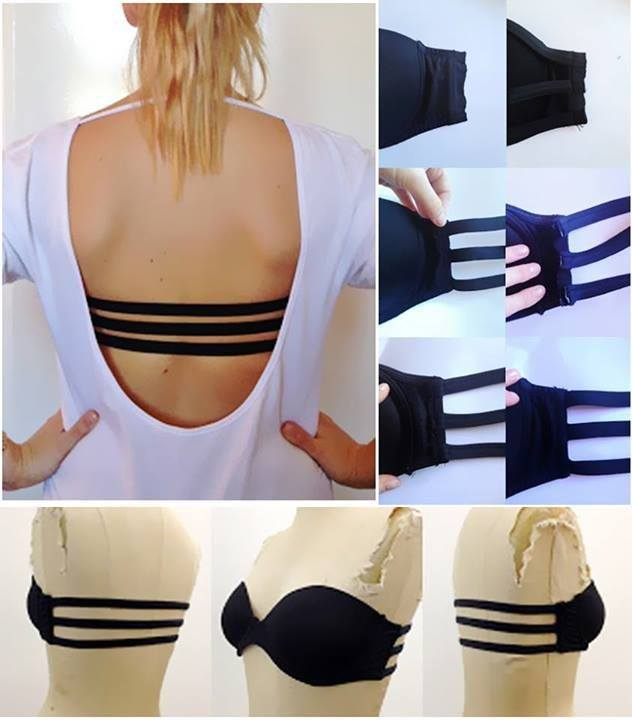 Backless Bras for Open Back Dresses & Backless Shirts Backless bras give incredible support and wardrobe versatility, perfect for open back dresses and backless tops. Clever designs, such as adhesive bras or strapless backless bras, support stay-put fit, with .