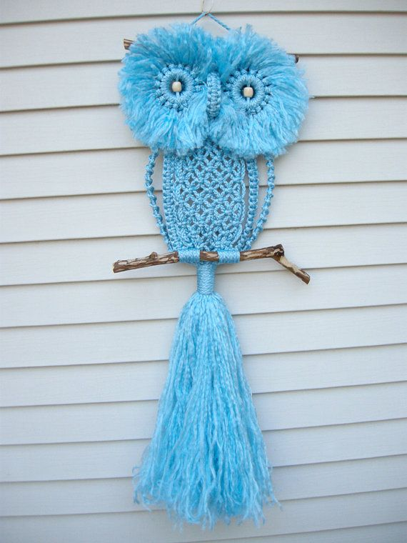 How to DIY Adorable Macrame Owls Patterns and Tutorials (Video)2.jpg