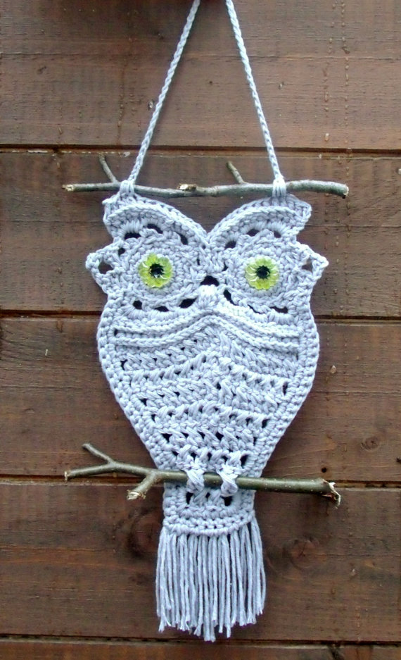 How to DIY Adorable Macrame Owls Patterns and Tutorials (Video)5.jpg