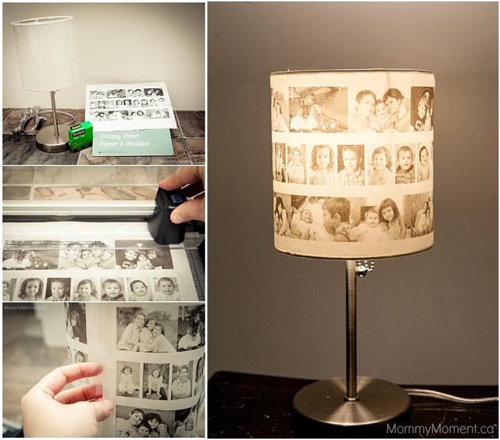 How to DIY Amazing Photo Lamp