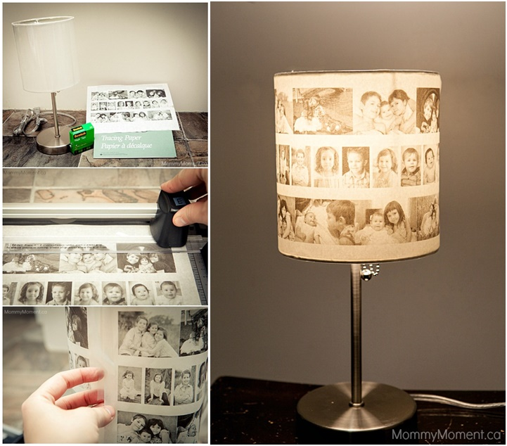 DIY Amazing Photo Lamp