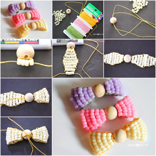 DIY Bead Bow