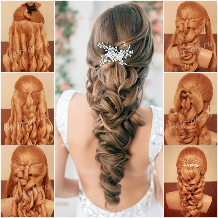 Surprising Hairstyles With Loose Curls And Braids Braids Hairstyle Inspiration Daily Dogsangcom