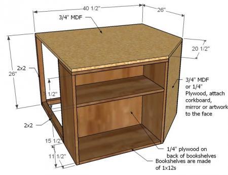 DIY Corner Twin Beds01 ...
