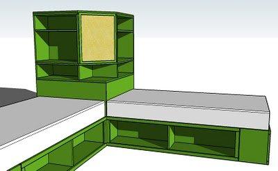 How To Diy Space Saving Corner Twin Beds Set