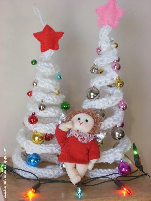 DIY Crochet Christmas Tree with Ornaments