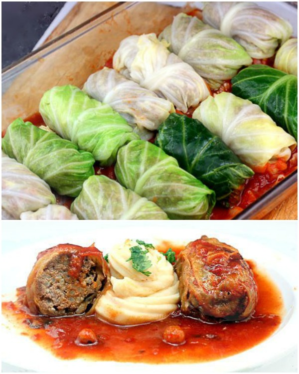 DIY Delicious Stuffed Cabbage Roll (Video)