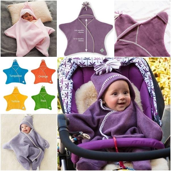 Baby Star Fleece Blanket Diy Star Baby Wrap Blanket