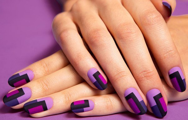 FabartDIY Chic Mod Mani Striped Nail Art 1