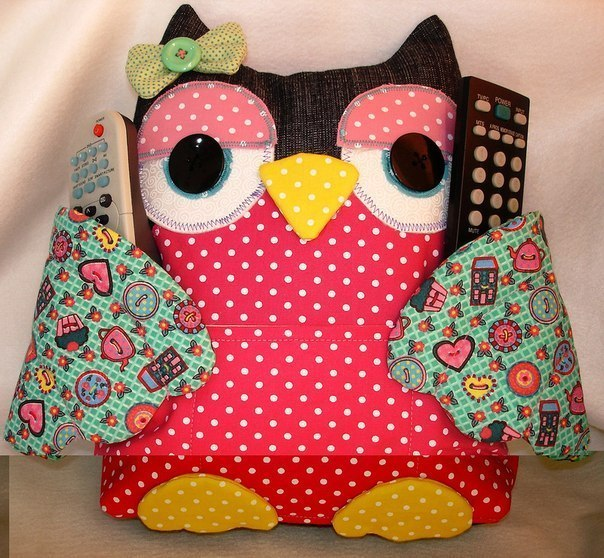 Fabric Owl Pillow with Free Pattern