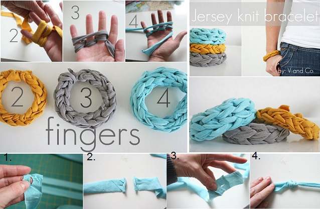 How To Diy Finger Knitting Video