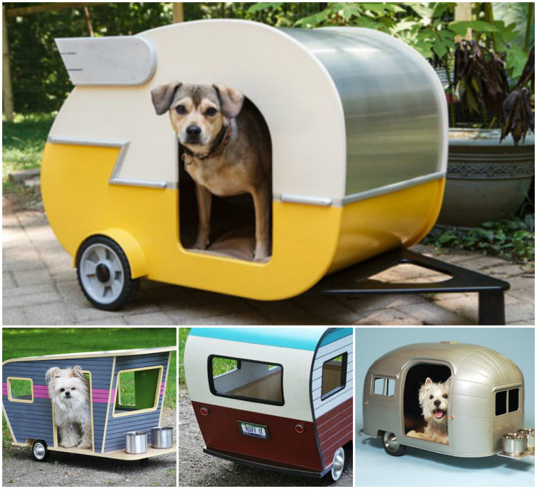 Pet Camper Playhouse