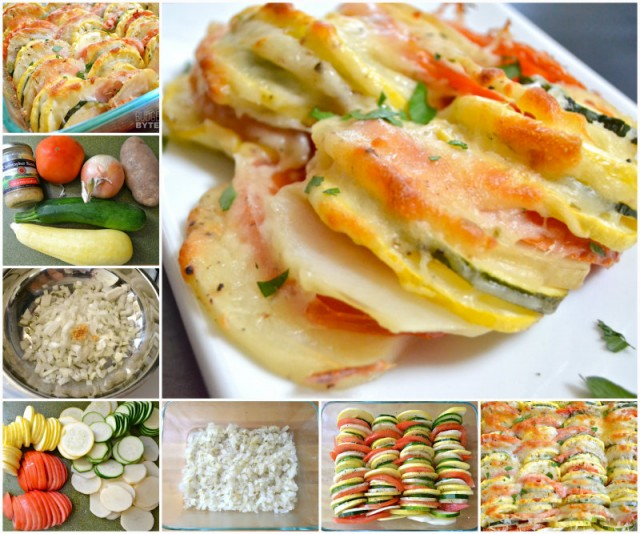 DIY Summer Vegetable Tian Recipe