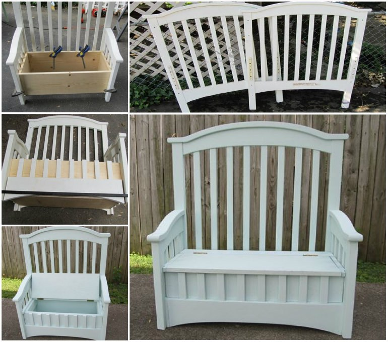 How To Turn Beds Into Garden Bench
