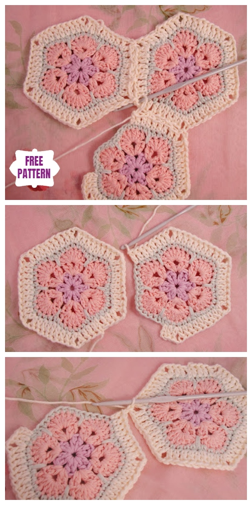 Crochet African Flower Blanket Free Crochet Patterns