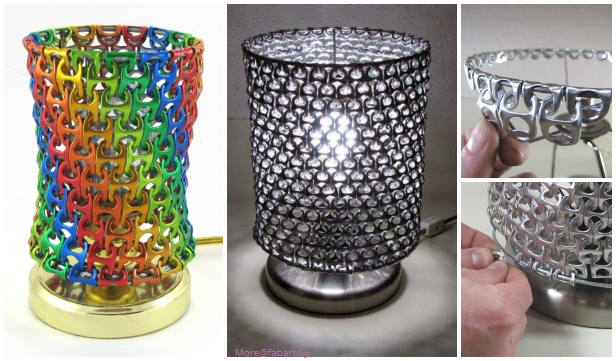 DIY Cool Soda Can Pop Top Lamp Shade Tutorial - Video