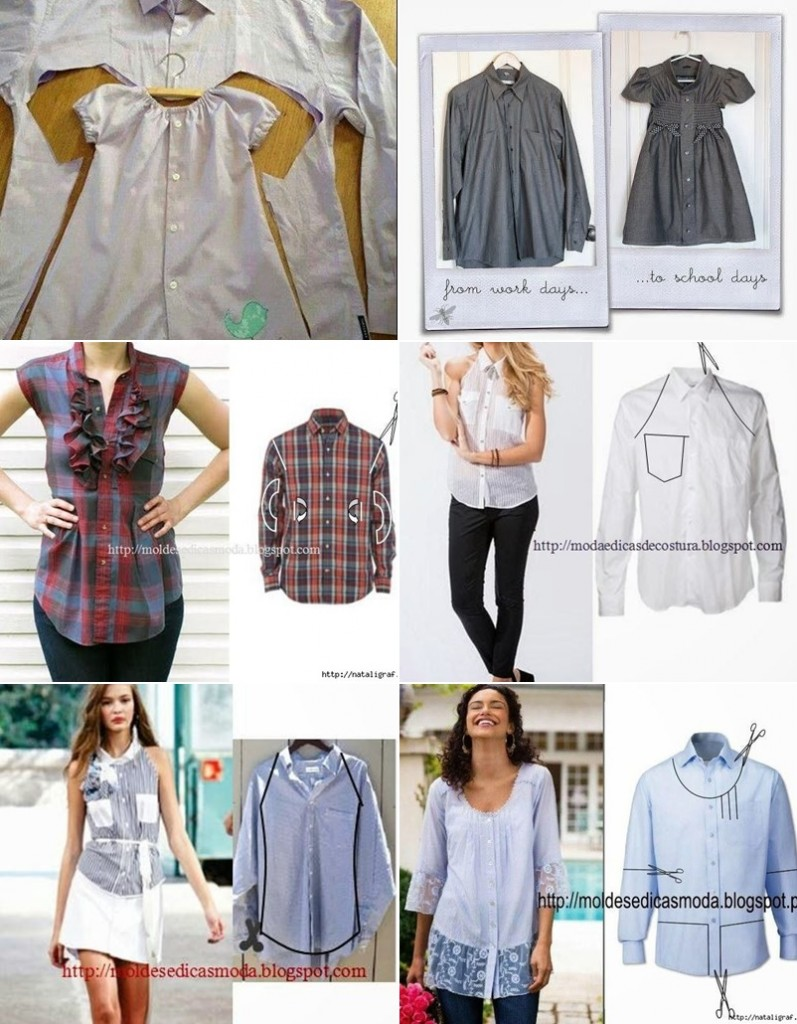 20+ Creative Ideas to Repurpose Old Shirts into New Fashion