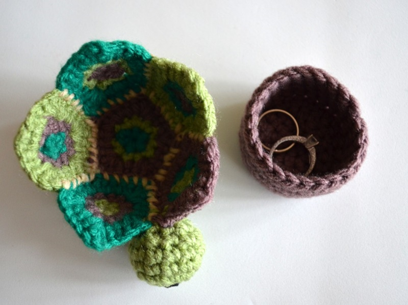 Crochet Secret Turtle Box Free Pattern