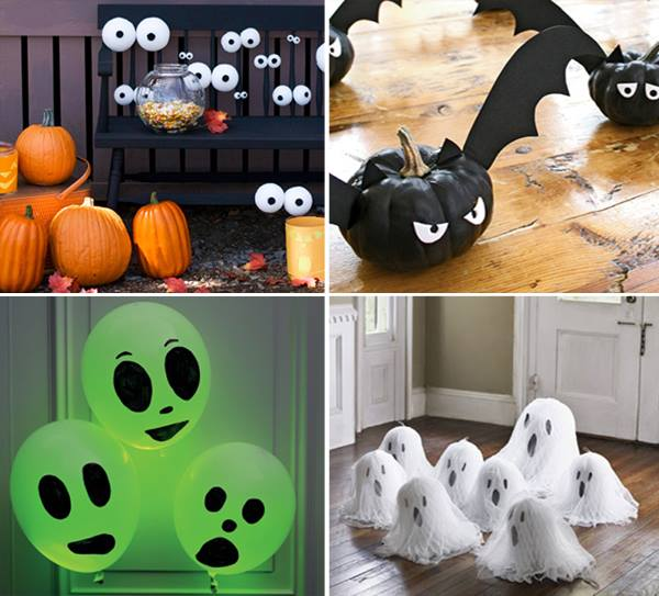 Pinterest DIY Halloween Decorations Ideas